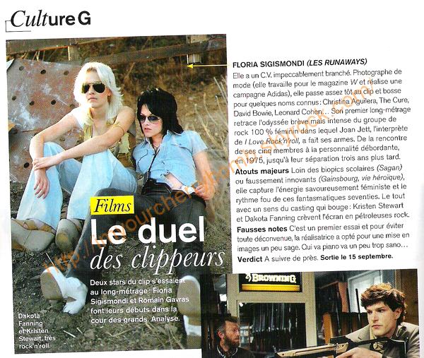 The Runaways, du Nouveau et du Croustillant !