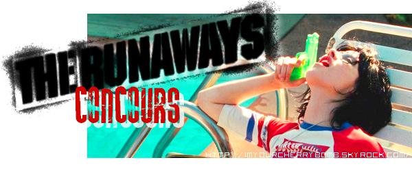 Les CONCOURS autour du film The Runaways