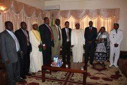 Le Président de la République a reçu la délégation de la Mission de l'ONU et de l'UA au Darfour