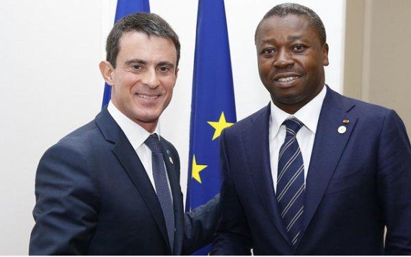 Manuel VALLS a touché 5 milliards de Faure GNASSINGBE