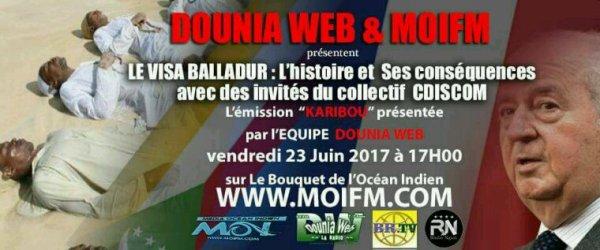 CDISCOM invité ce vendredi 23 juin 2017 à 17h par Dounia Web