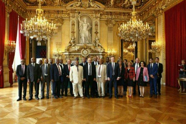 Réunion du Haut Conseil Paritaire Franco-Comorien à Paris