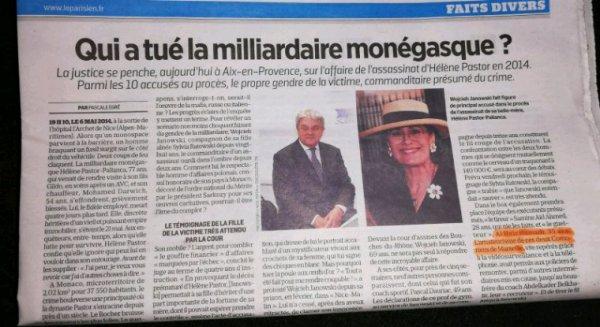 Deux comoriens impliqués dans l'assassinat de la milliardaire monégasque