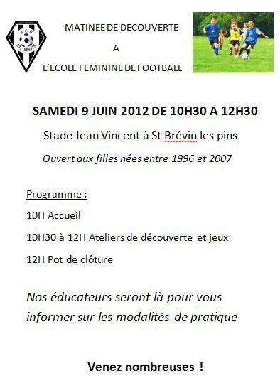 Du Football Féminin pour toutes les catégories !