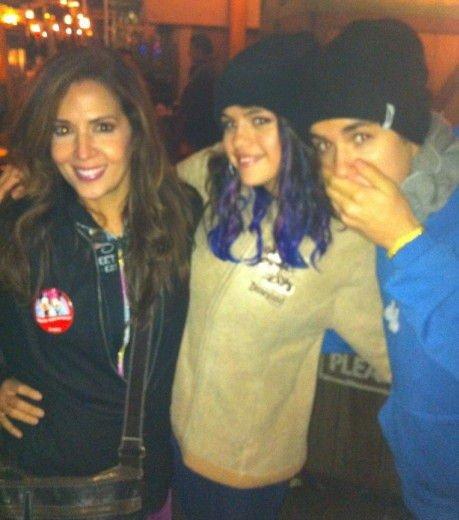 Selena Gomez : A Disneyland avec sa mère des Sorciers de Waverly Place