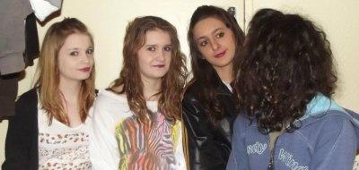 Louise , Pauline , Moi , Lisa <3
