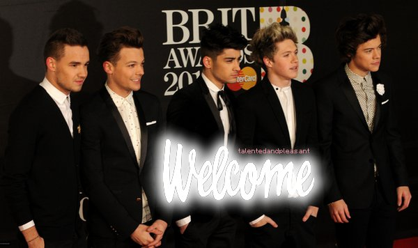 Welcome One Direction ♥