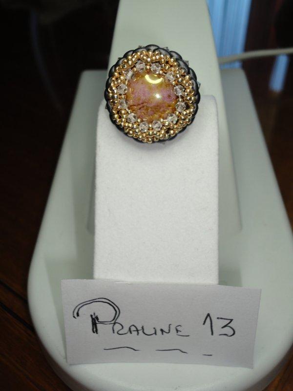 deux bijoux faits d'après photos. tout d'abord une bague la TICA de PENCIO.....vous pouvez les voir sur son blog...
