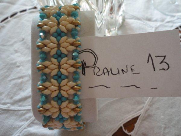 toujours dans ma période bleue, bracelet d'ELLAD2, le Annelies....
