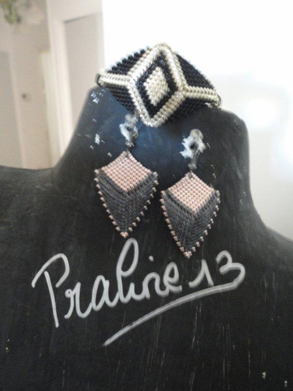 je me suis fait trois petits plaisirs...j'ai craqué sur une paire de boucles d'oreilles en shibori et une autre que j'admirai depuis longtemps sur internet....Merci à Syvie et Marjorie, vous m'avez redonnées l'envie de faire des bijoux