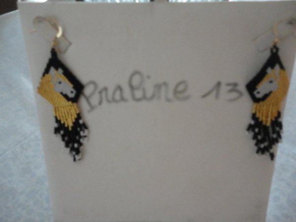 je me suis faite plaisir avec ces magnifiques boucles d'oreilles de Marjolaine Baron.....