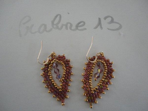 une autre série...de bijoux en peyote.