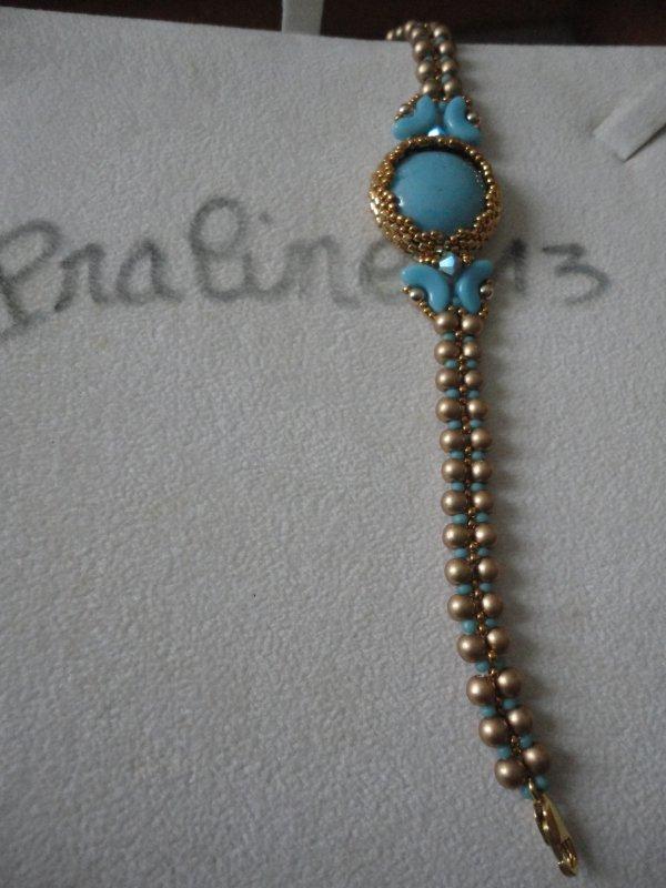 Ma deuxième paire de boucles d'oreilles de Puca AIKO avec des supports en argent 925.Toujours de Puca VENUS Bracelet...
