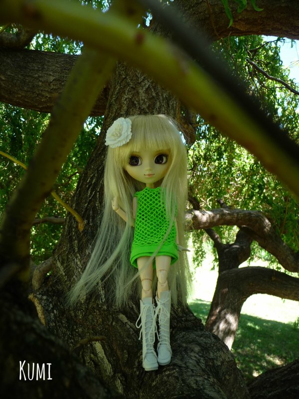Séance photo de Fûka Naritaki ~ Un printemps vert, vert