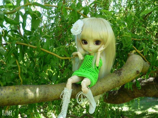 Séance photo de Fûka Naritaki ~ Un printemps vert, vert