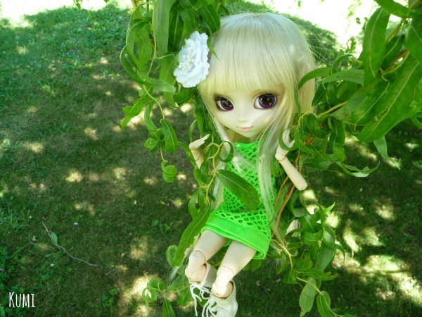 Séance photo de Fûka Naritaki ~ Un printemps vert, vert 2