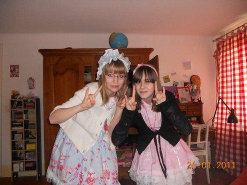 journée avec ma soeur loliita