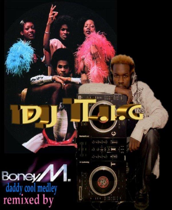 "ALBUM "" REMIX'LA "" / DJ T.I.G Boney M - daddy cool remix (2012)"