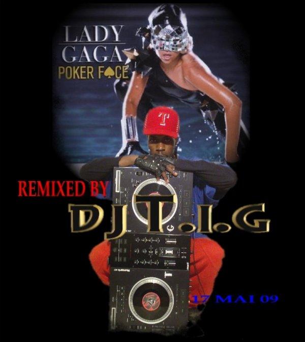 """ALBUM """" REMIX'LA """" / DJ T.I.G Lady Gaga - coupé face remix  (2012)"""