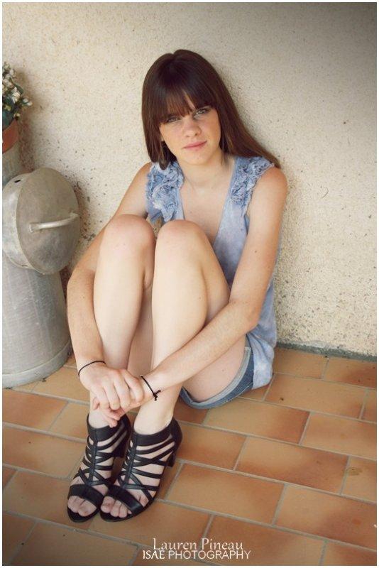Elodie, shooting du 2 août '11