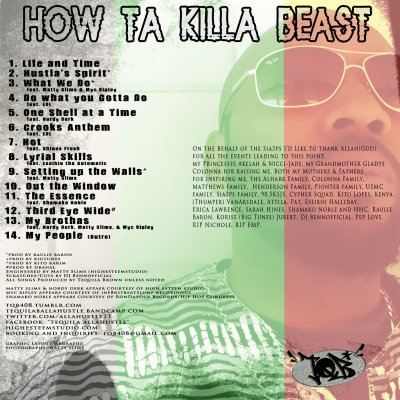 How Ta Killa Beast