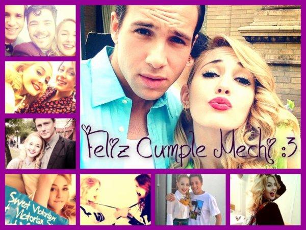 Joyeux anniversaire Mechi ♥