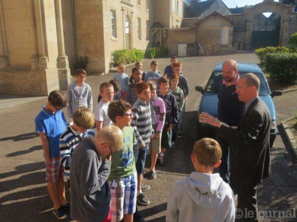 Petits Chanteurs à la Croix de Bois sont à AUTUN (Saône -et- Loire) depuis la rentrée 2014-2015