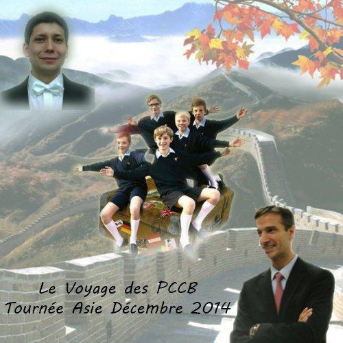 Les Petits Chanteurs à la Croix de Bois - Le voyage des PCCB - Tournée Asie 2014 -  Concert Séoul 2014