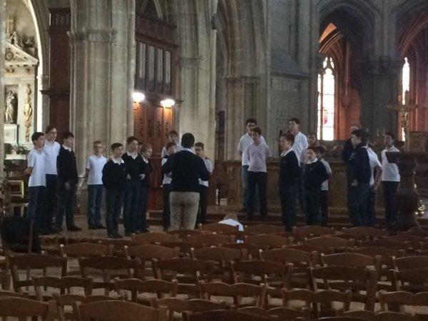 Les Petits Chanteurs à la Croix de Bois -  Concert à Blois le mercredi 15 avril 2015
