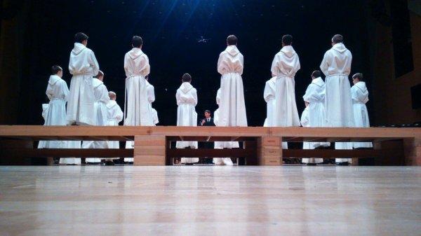 Les Petits Chanteurs à la Croix de Bois  -  SK Atrium de Suwon. - Corée du sud 2015 - Mardi 8 décembre 2015