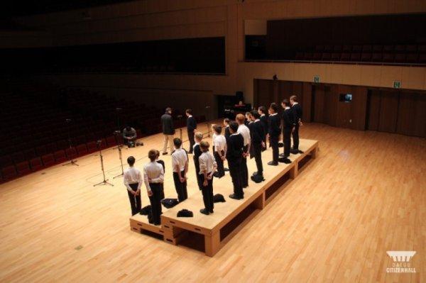 Les Petits Chanteurs à la Croix de Bois - Daegu en Corée le 18 décembre 2015