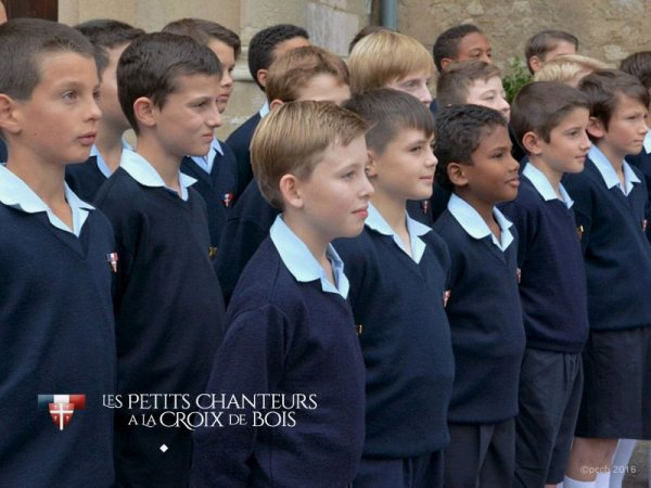 Les petits chanteurs a la croix de bois - Le Paradis  - Châlon-sur-Saône - 13 octobre 2015