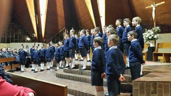 Les Petits Chanteurs à la Croix de Bois -   Concert  à St Coud le 19 janvier 2016