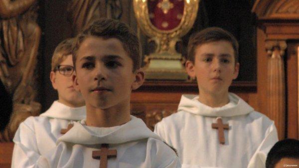 Les Petits Chanteurs à la Croix de Bois - Concert à Arras le 20 Janvier 2016