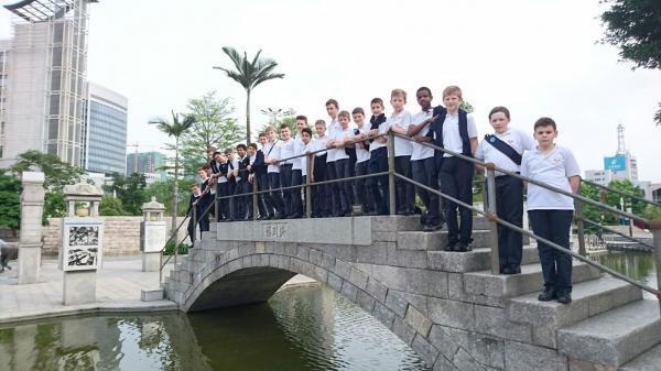 Les Petits Chanteurs à la Croix de Bois -  tournée en Chine  Mai juin 2016