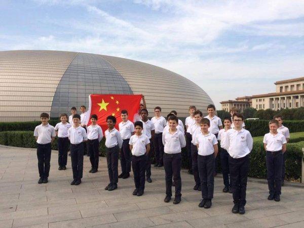 Les Petits Chanteurs à la Croix de Bois - PCCB en Chine - Tournée Chine / Taïwan Mai-Juin 2016