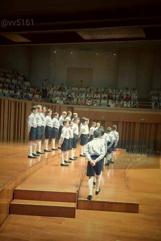 Les Petits Chanteurs à la Croix de Bois - Tournée Chine / Taïwan Mai-Juin 2016