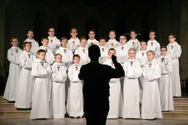Les Petits Chanteurs à la Croix de Bois - Concert à Saulieu - 6 octobre