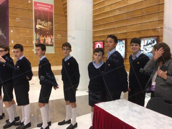 Les Petits Chanteurs à la Croix de Bois -   19 / 11PCB à changsha