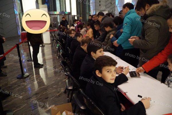 Les Petits Chanteurs à la Croix de Bois -  Wuxi  en Chine 26 Novembre 2016