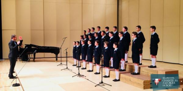 Les petits chanteurs à la Croix de Bois - Tournée en Corée du sud - décembre 2017