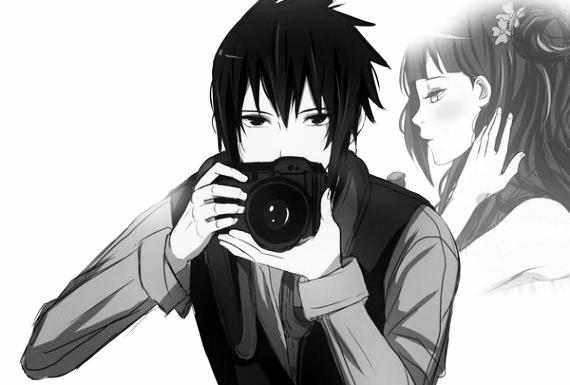 """One-shot """"Je t'ai capturée en image et maintenant c'est mon c½ur qui t'a capturé..."""""""
