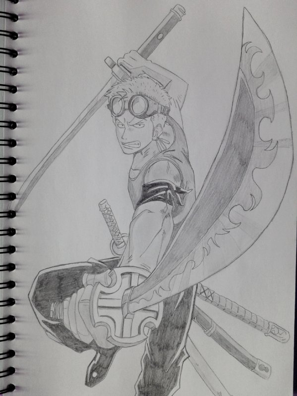 Roronoa Zoro Saraah S Drawing