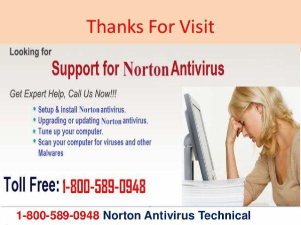 (800)589-0948 Norton antivirus technical support phone number