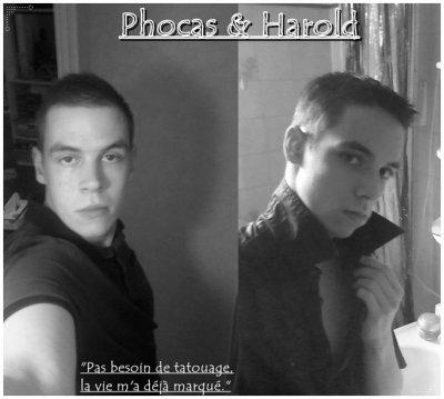 Phocas & Harold Frère pour la vie <3