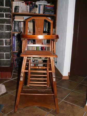La chaise haute