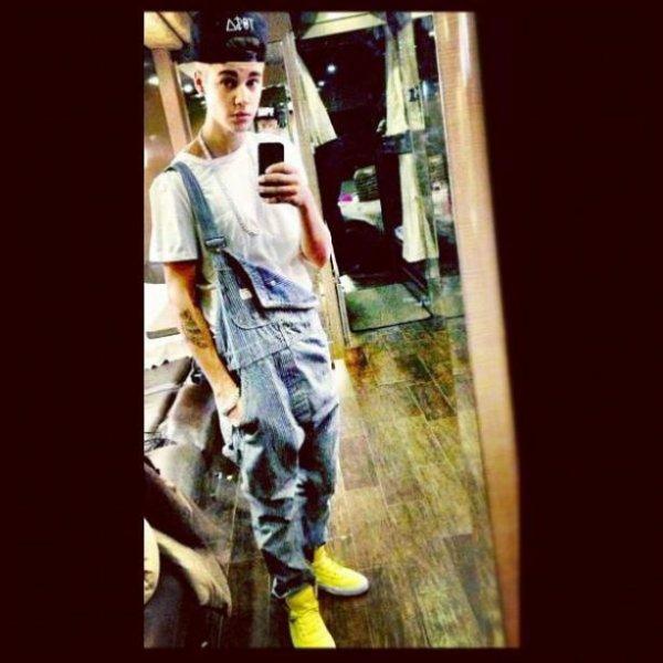 Toute ma vie je me r'appellerais de Justin et de sa salopette <3