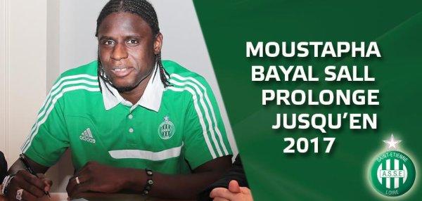 St-Etienne : Bayal Sall prolonge...avant Ruffier ???