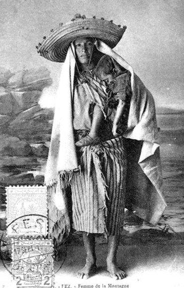 Une femme de la montagne du Rif