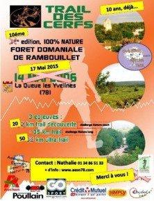 Trail des Cerfs (78) - Edition du 17-05-2015